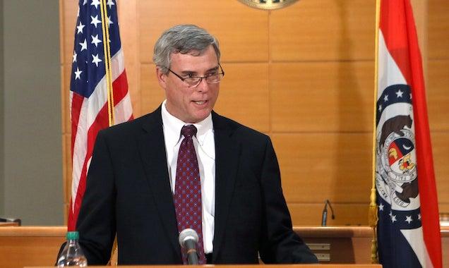Ferguson prosecutor McCulloch