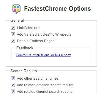 FastestChrome Soups Up Search, Auto-Loads Pages