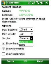 SightFinder Uses Cellphone GPS to be Your Personal Tour Guide