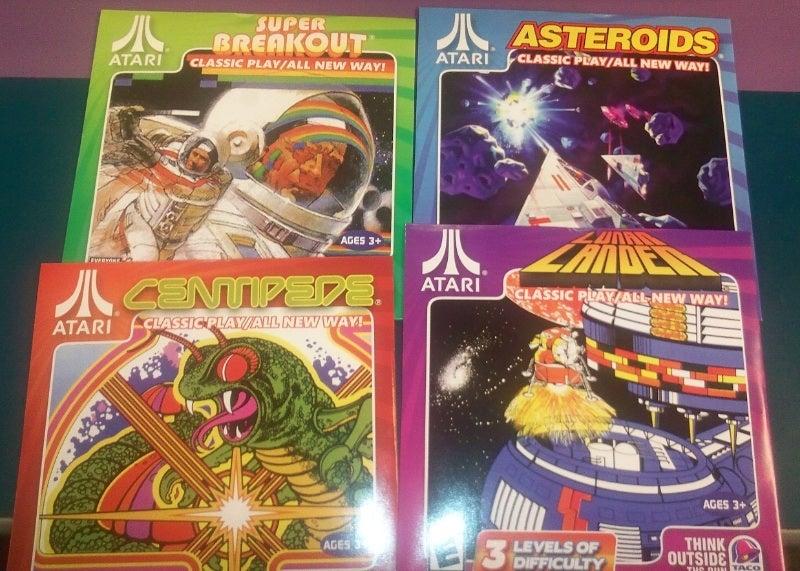 Think Outside The Bun, Get Free Atari Games