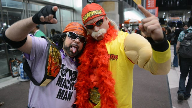 Many People Asked This Hulk Hogan Cosplayer About His Sex Tape This Weekend