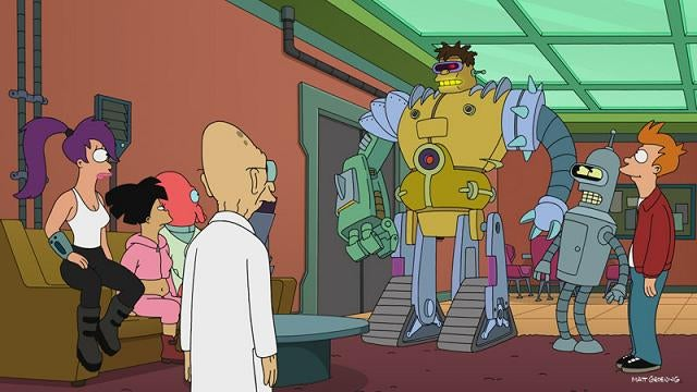 Futurama proves that hating Zoidberg is a sign of your basic humanity