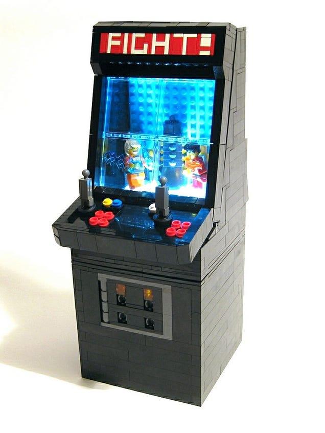 Lego arcade console for Consolle lago