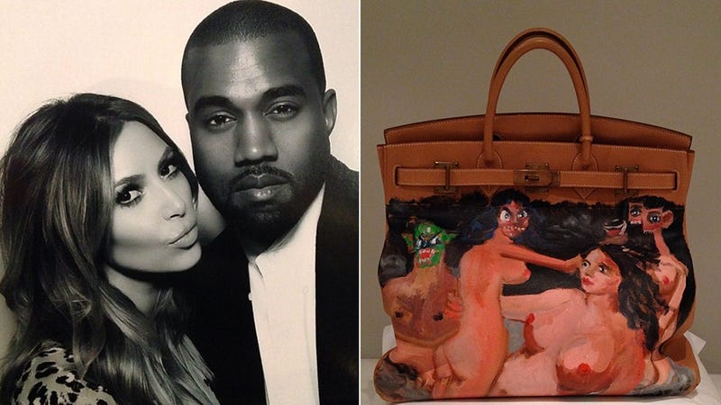 Here's the Hideous Naked Demon Birkin Bag Kanye Got Kim for Christmas