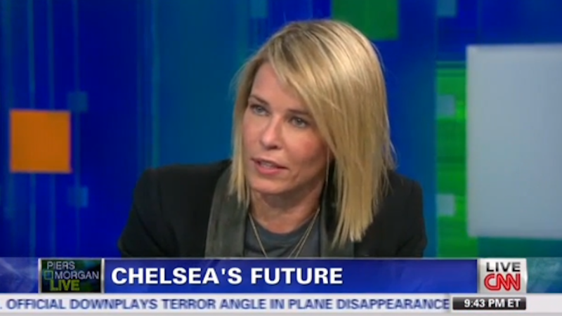 Chelsea Handler Tells Piers Morgan to Shove It on Live TV