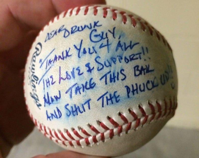 """Dear Drunk Guy"": Brandon Phillips Gives Signed Ball To Heckler"