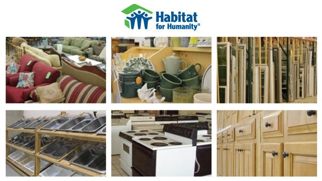 Donate Home Improvement Leftovers and More to Habitat for Humanity