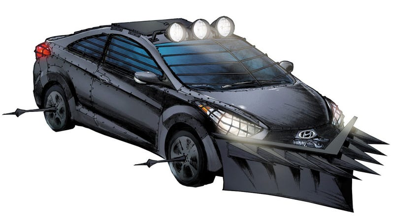 This Car From The Walking Dead's Creator Will Kill Zombies