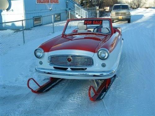 Economical Transportation For The Snowpocalypse