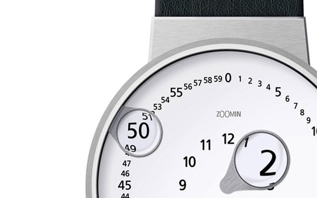 Never Squint To Read The Time Again With This Watch Concept