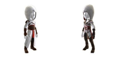 Assassin's Creed II Outfits For Your 360 Avatar