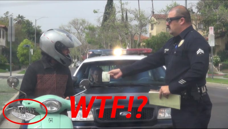 Cop Pranks Safe Drivers With $100 Bills Instead Of Tickets