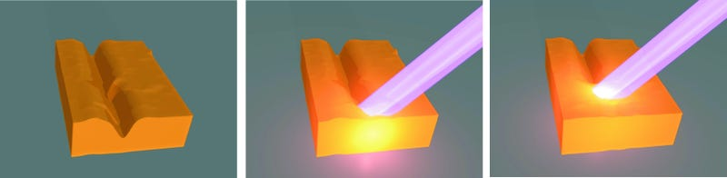 New form of rubber can be repaired with light