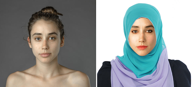 Woman Gets Photoshopped to Display Different Countries' Standard of Beauty 785963105818963600