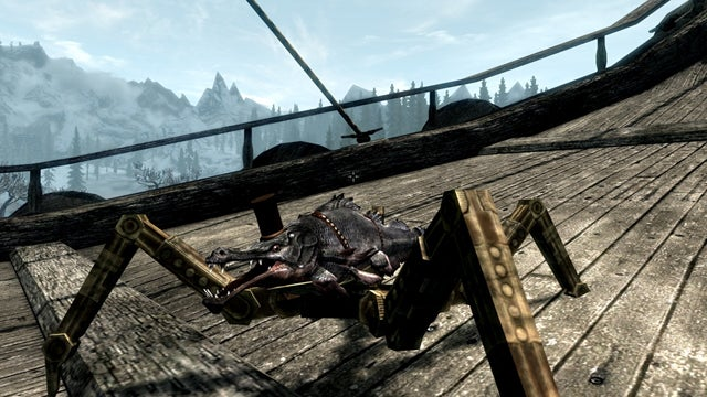 You Know What Skyrim Needs? A Mechanical Fish In A Top Hat Maybe?