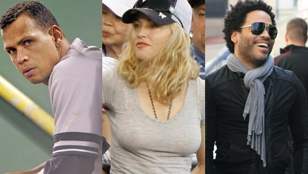 A-Rod, Madonna & Lenny Kravitz: What The Hell Is Going On?