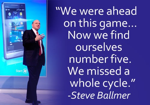 Steve Ballmer Takes On Everyone (Microsoft Included)