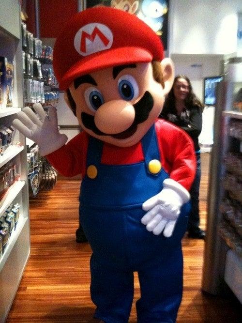 Odd And Odder Mario Sightings In New York