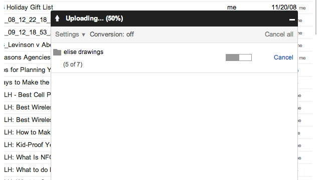 Upload Folders to Google Drive Faster by Dragging-and-Dropping Them into Chrome