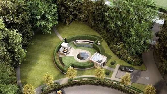 Holy Batman! A Subterranean Mansion! With a Water Slide!