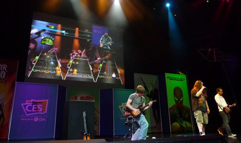 CES 09: Activision CEO Dazzles CES Crowd With 2008 Line-up, Guitar Hero: Metallica