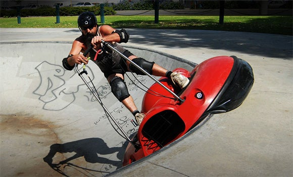 Air Board Personal Hovercraft Offers Opportunities for Embarrassment