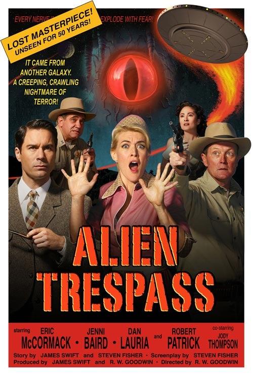 უცხოპლანეტელთა შემოჭრა (ქართულად)   Alien Trespass / Инопланетное вторжение (2009)