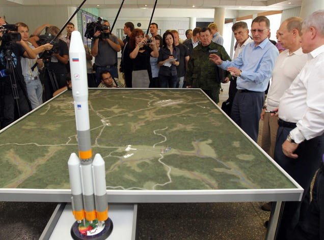 Things Are Not Going Well At Russia's New Spaceport