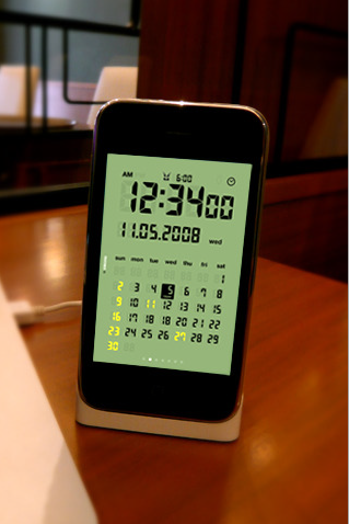 LCD Clock iPhone App Makes Your Real Clock Seem Pitiful and Sad