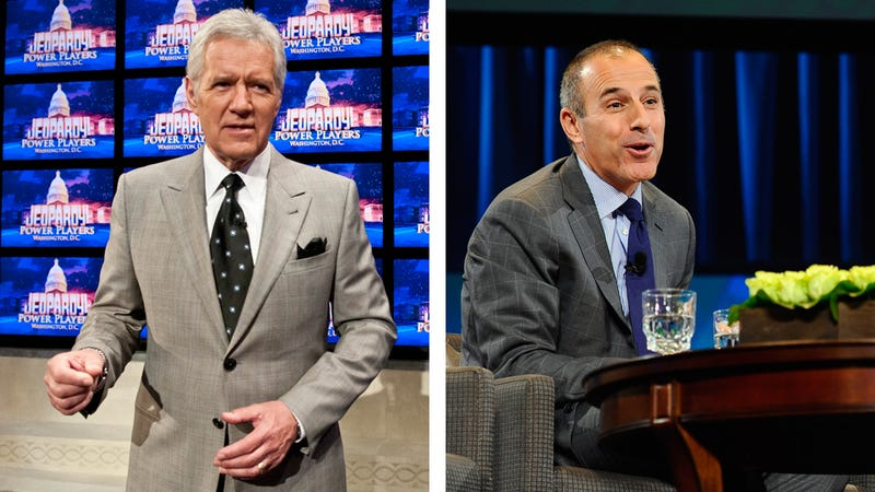 America's Most Hated Murder-Villain Matt Lauer Is Poised to Replace Alex Trebek on Jeopardy!