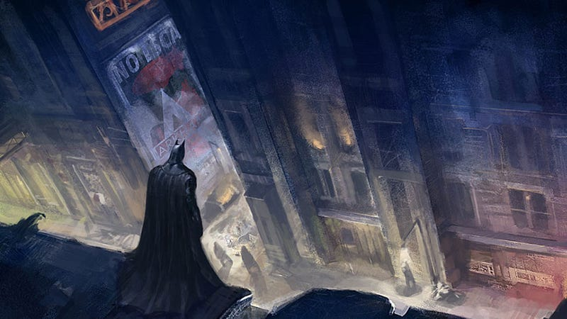 Check Out Some Great Arkham City Concept Art