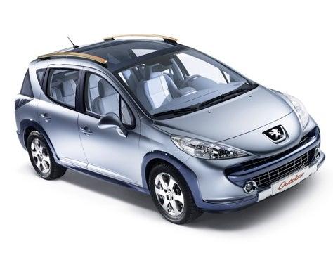 Geneva Pre-Show: Peugeot 207 SW Outdoor Concept