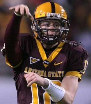 Arizona State Quarterback Allegedly Doesn't Like Being Mocked For His Pink Shirt