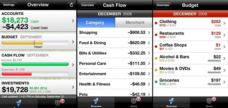Best Mobile Personal Finance Tool: Mint