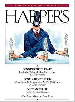 Harper's Staff Harangued