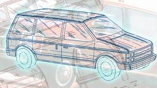 It's The 28th Anniversary Of The Chrysler Minivan Design
