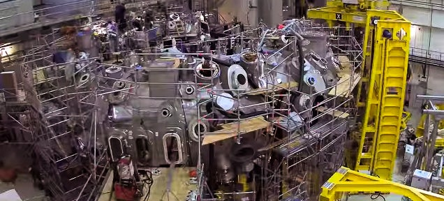 Nine-year time-lapse video shows how to make a nuclear fusion reactor