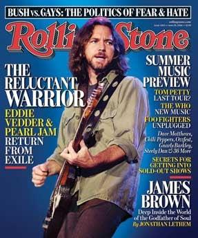 AT&T Censors Pearl Jam's Anti-Bush Lyrics During Live Webcast