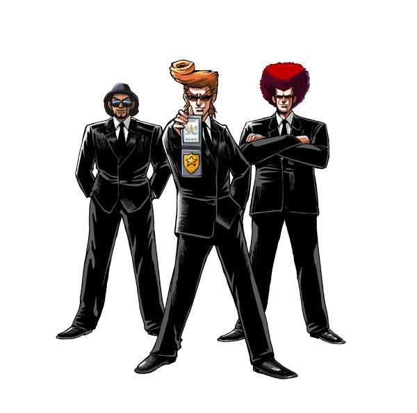 Elite Beat Agents Team Working on Lips?