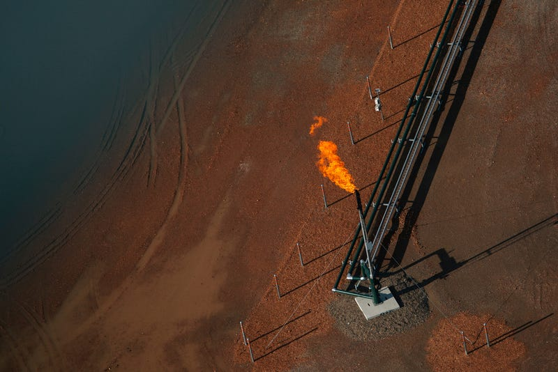 Gorgeous Aerial Photos Capture the Ironic Beauty of Fracking