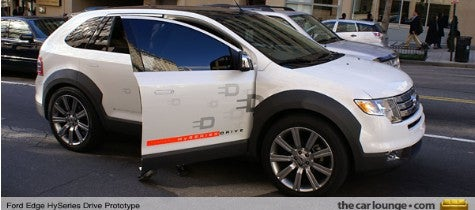 Spy Photos: Ford Edge HySeries Hybrid