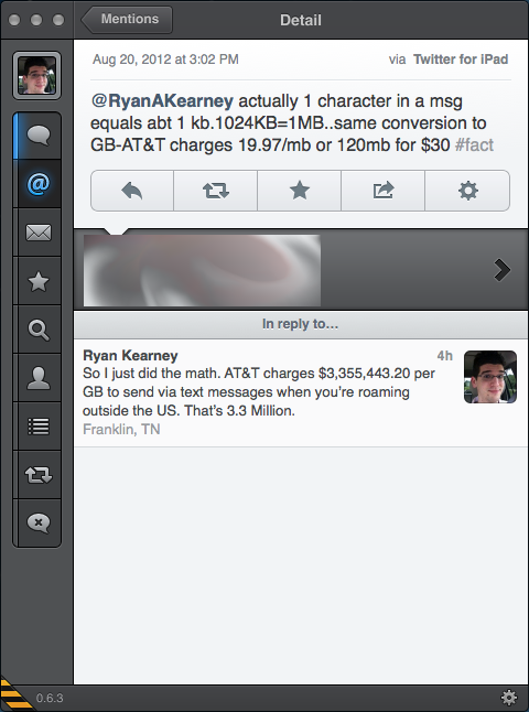 It Costs $35 Million to Send an HD Video Over SMS While Roaming on AT&T