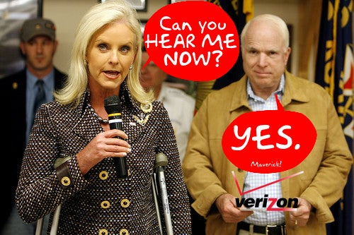 The Atlantic: Verizon Did Give John McCain Special Treatment With Cell Towers
