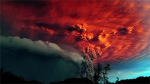Chile's Volcano Eruption Looks Like Hell on Earth