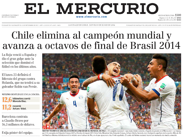 """""""Spain Was The Titanic"""": The World Reacts To A World Cup Collapse"""