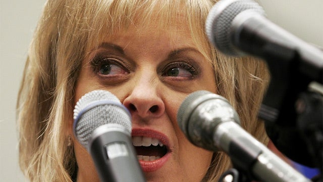 Nancy Grace Sued by Fellow Angry Lady