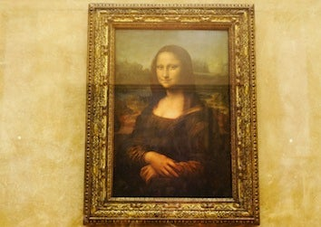 Mysterious Symbols Found In Mona Lisa's Eyes