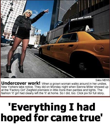 Jo Piazza Walks A Mile In Sienna Miller's Underpants