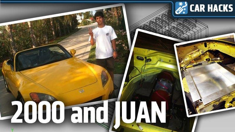 Meet The High School Kid Building An Electric Honda S2000