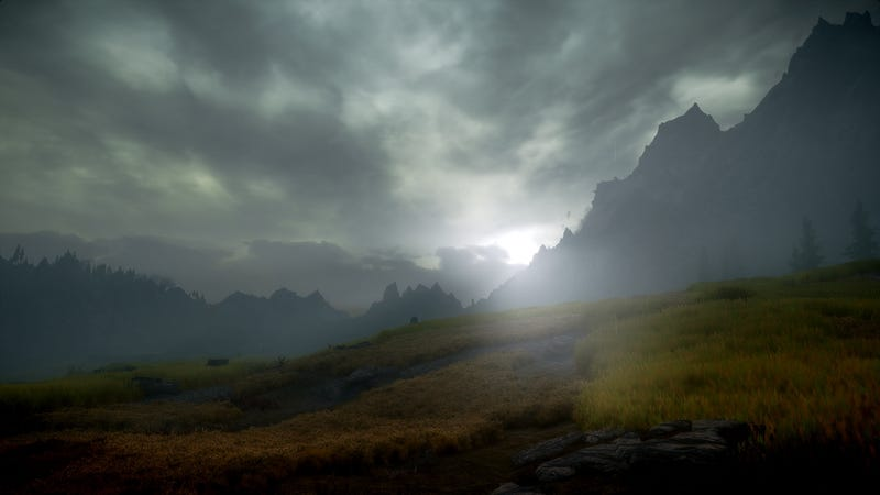What Skyrim Looks Like When You're Running 100 Mods At Once